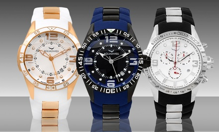 Aquaswiss Trax 3- or 6-Hand Watches. Multiple Styles Available.