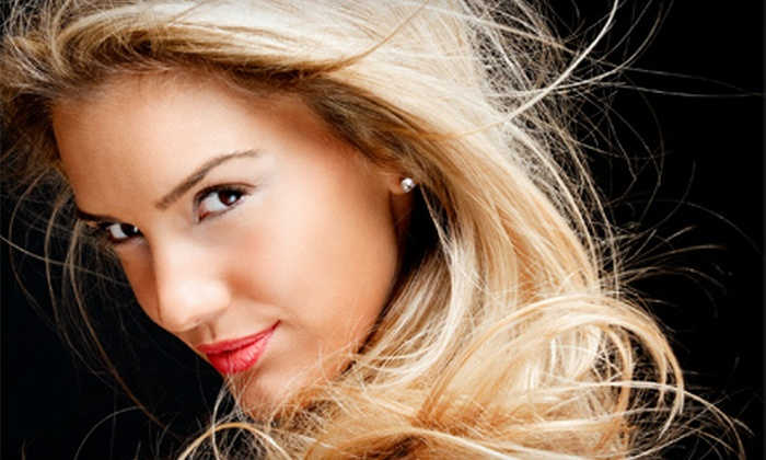 Sabre Hair Art - West Columbia: Full Foil Highlights or Women's Haircut at Sabre Hair Art (Up to 57% Off)