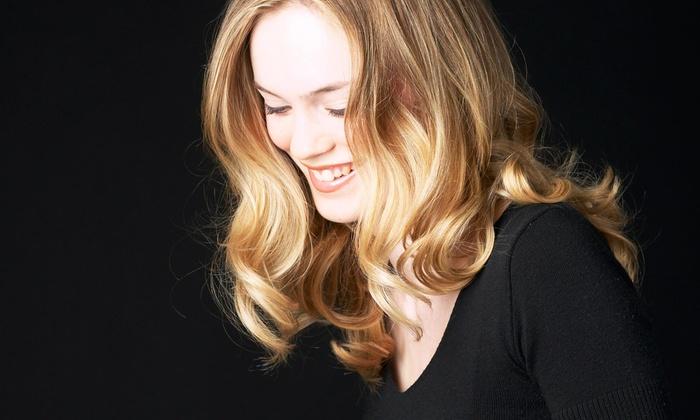 Sarah Gibson at Salon Red - Sarah Gibson at Salon Red: A Haircut and Keratin Treatment from Sarah Gibson At Salon Serenity Suites (56% Off)