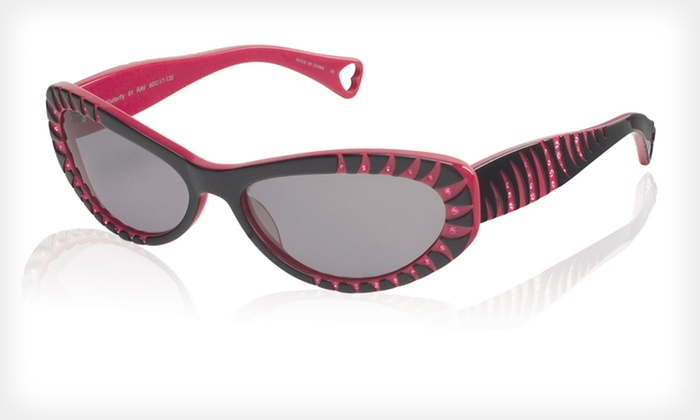 Flutterfly Sunglasses: $39 for Flutterfly Sunglasses by Betsey Johnson ($225 List Price)