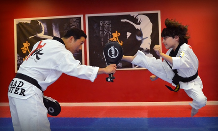YK Martial Arts - Multiple Locations: One or Three Months of Unlimited Martial Arts Classes with Uniform Included at YK Martial Arts (Up to 68% Off)