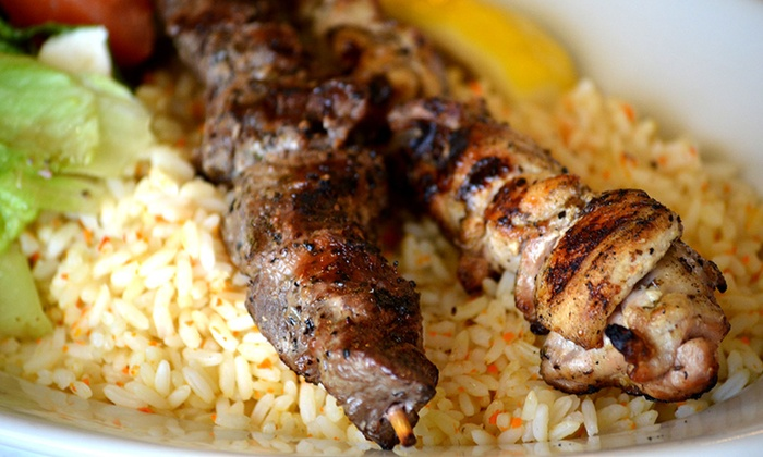 Asteria Grill - Lakewood: Greek Dinner at Asteria Grill (Up to 31% Off). Two Options Available.