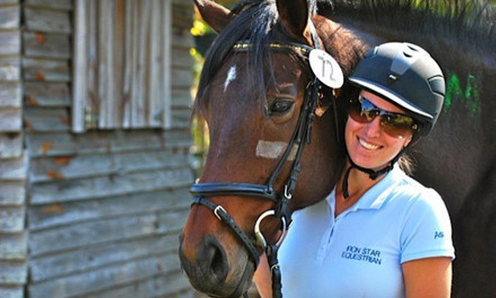 Iron Star Equestrian - Havana: $29 for Two Private Horseback-Riding Lessons at Iron Star Equestrian ($70 Value)