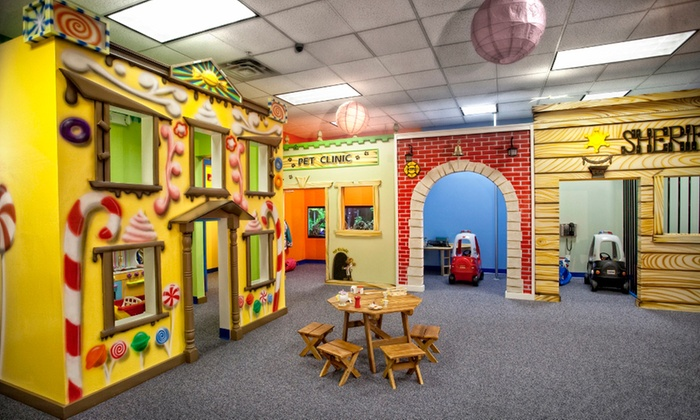 Kids Town - Wheaton: Two or Four Groupons, Each Good for One Open-Play Session at Kids Town (42% Off)