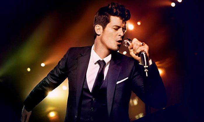 Robin Thicke - The Venue at Horseshoe Casino: Robin Thicke at The Venue at Horseshoe Casino on Friday, August 15, at 8 p.m. (Up to 35% Off)