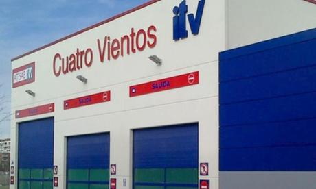 ITV para vehículos de gasolina, motocicletas o vehículos diésel desde 29,95 € en Atisae ITV Cuatro Vientos
