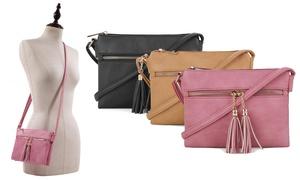 0474641111dc5 MKII Women's Libby Crossbody Bag with Tassels