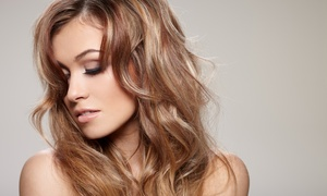 Hair by Lance: Haircut with Optional Deep Conditioner, and Blowout at Hair by Lance (Up to 56% Off)