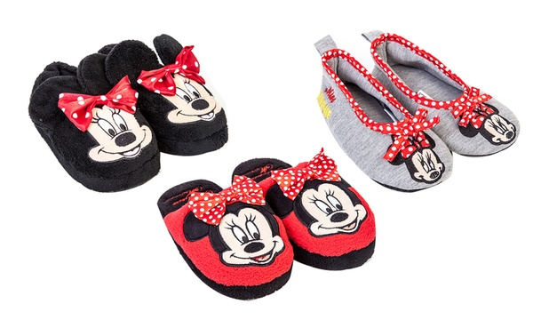Kids' Minnie Mouse Slippers for £4.99