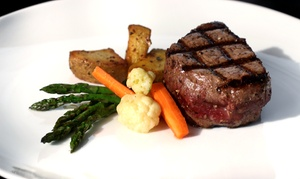 Harry's Bar and American Grill: $35 for $60 Worth of Dinner for Two at Harry's Bar and American Grill