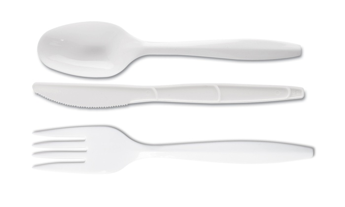Dixie Plastic Forks, Knives, or Spoons: 1,000-Pack of Dixie Medium-Weight Plastic Forks, Knives, or Spoons