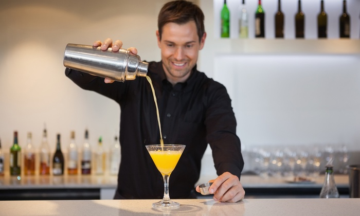 BartenderOne - Ottawa: Get Into the Spirit Bartending Workshop with Option for Bartending Kit at BartenderOne (Up to 65% Off)
