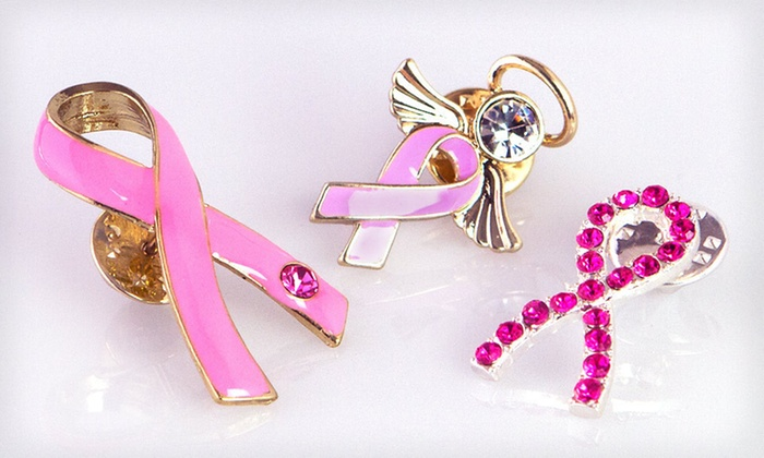 Breast Cancer Awareness Accessories: Breast Cancer Awareness Accessories (Up to 70% Off). Five Options Available. Free Shipping.