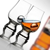 2-Glass Glencairn Scotch Tasting Set with Stainless Steel Ice Balls
