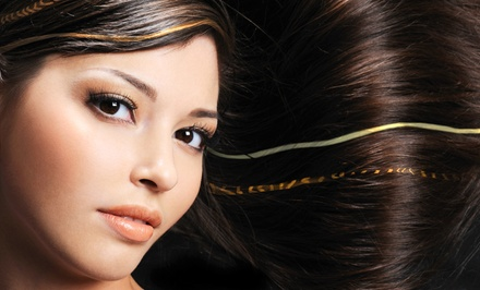 One, Two or Three Rows of Extensions with Trim with Vanessa at Art of Hair Grand Salon (Up to 69% Off)
