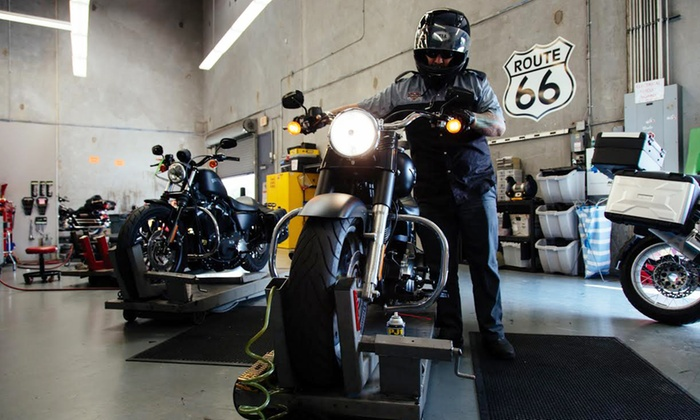 EagleRider - New Orleans: Regular or Synthetic Oil Change, Spring Tune-Up Package, or Motorcycle Services at EagleRider (Up to 51% Off)