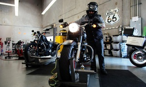 EagleRider: Regular or Synthetic Oil Change, Spring Tune-Up Package, or Motorcycle Services at EagleRider (Up to 51% Off)
