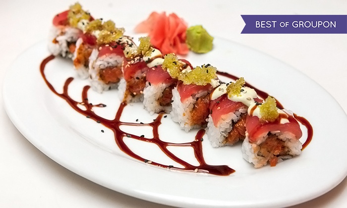 M - Downtown Honolulu: Speciality Sushi Rolls and Drinks for Two or Four at M (Up to 57% Off)