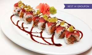 M: Speciality Sushi Rolls and Drinks for Two or Four at M (Up to 57% Off)