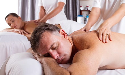 One 30-Minute Couple's Massage at Hummingbird Massage Spa (50% Off)