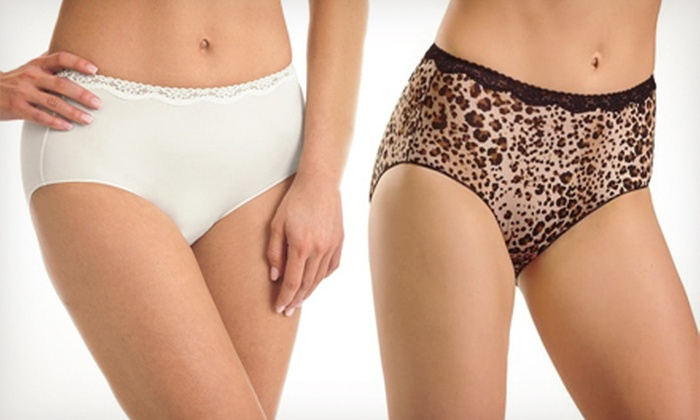 Jockey Lace Hip Briefs: $9 for Three-Pack of Jockey No Panty Line Tactel Lace Hip Briefs ($24 List Price). Multiple Colors and Sizes Available. Free Shipping.