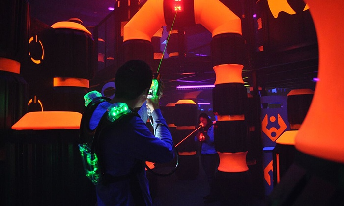 LaserCraze - Xtreme Craze: $23 for Two Laser Tag Sessions with 20 Arcade Tokens at LaserCraze ($35 Value)