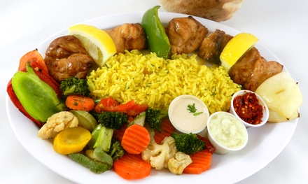 Mediterranean Food or Catering from Mediterranean City Grill (Up to 45% Off). Three Options Available.