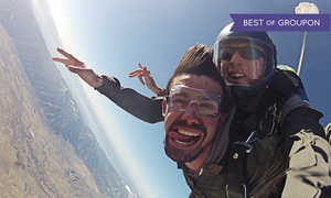 Skydive Lake Tahoe: $199 for Tandem Skydive at 12,500 Feet at Skydive Lake Tahoe ($255 Value)