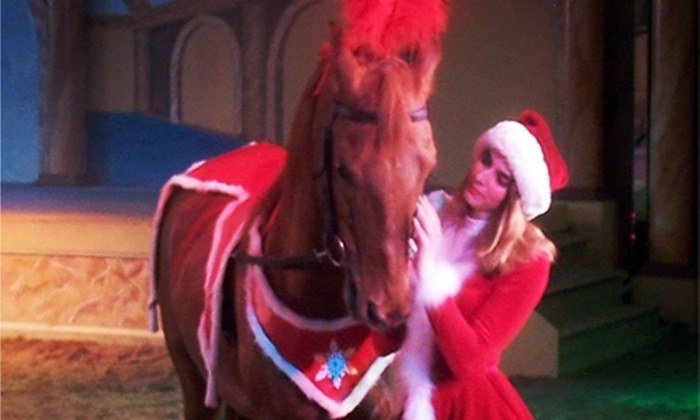 The Dancing Horses Theatre - The Dancing Horses Theatre: $17 for a Horse and Exotic-Bird Show and Backstage Tour at The Dancing Horses Theatre ($35 Value)
