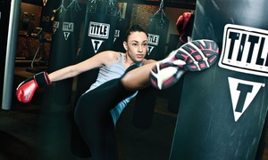 Title Boxing Club: $15 for Two Weeks of Unlimited Boxing and Kickboxing Classes at Title Boxing Club ($49.50 Value)