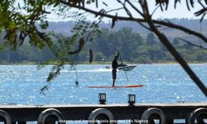Life Náutica: Life náutica passeio de stand-up paddle (opção com caiaque single) na Life Náutica – Asa Norte