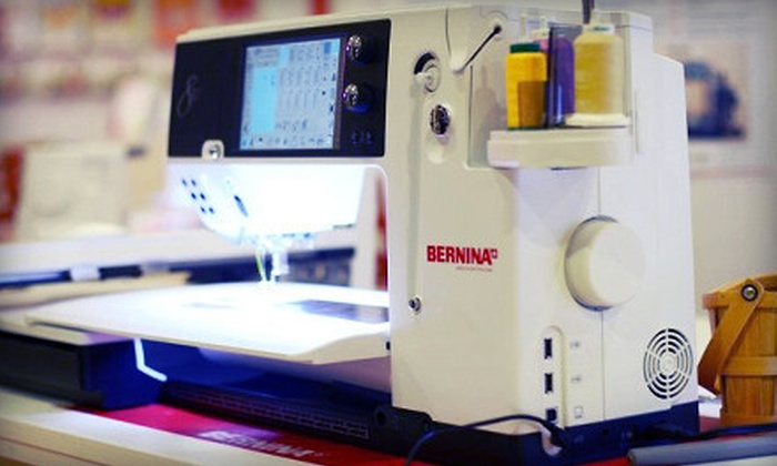 Bernina Northwest - Pinehurst: Intro to Sewing or Embroidery Class at Bernina Northwest (Up to 75% Off). Five Options Available.
