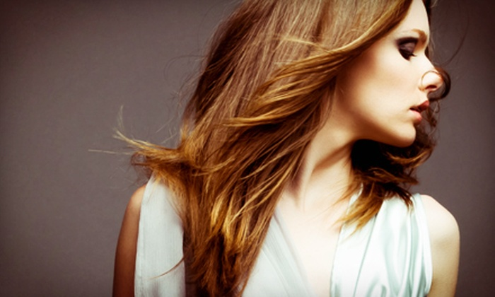 Knick Salon and Spa - Milwaukee: Haircut Package with Optional Partial or Full Highlights at Knick Salon and Spa (Up to 55% Off)