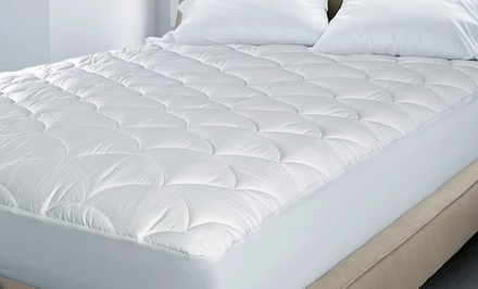 Hotel Grand Damask Dot Water Repellant Mattress Pad from $29.99–$49.99