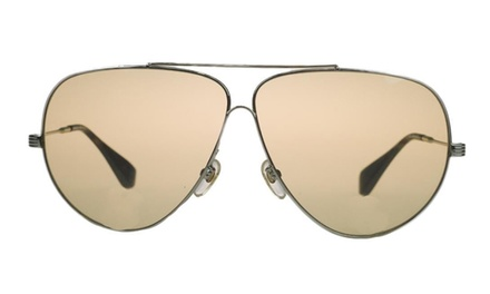 Michael Kors Gold Aviator Women's Sunglasses
