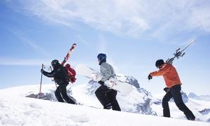 SCUOLA ITALIANA SCI APRICA: 2 ore di lezione di sci o snowboard per 2 persone alla Scuola Italiana Sci Aprica (sconto fino a 62%)