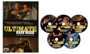 Ultimate Krav Maga Self-Defense Instructional Set (5-DVD Bundle)