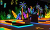 Glowgolf - Westmere: Three Rounds of Glow-in-the-Dark Mini Golf for Two, Four, or Six at Glowgolf (Up to 56% Off)