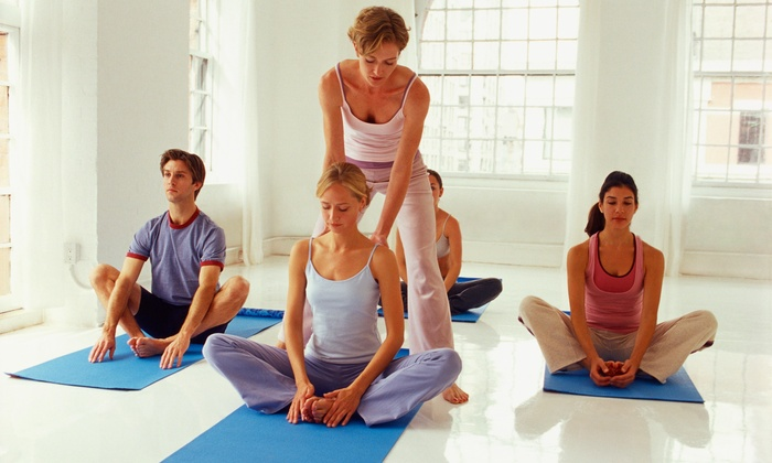 Cloud9 Divine Healing Center - Park Plaza: Four Weeks of Hot Yoga Classes at Cloud9 Divine Healing Center Santa Fe (66% Off)