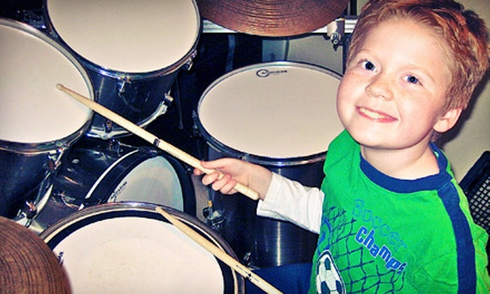 Chicago's #1 Drum Lessons - Multiple Locations: One Private 30-Minute Drum Lessons with DVD at Chicago's #1 Drum Lessons (64% Off)
