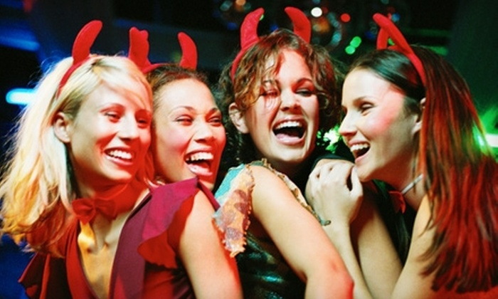Washington DC Halloween Parties - Multiple Locations: Halloween Party for Two or Bottle Service from Night Life's Trick or Treat DC (Up to 52% Off). Four Options Available.