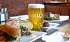Kells Brew Pub - Nob Hill: $12 for $20 Worth of Pub Fare at Kells Brew Pub (40% Off)