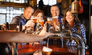 Oude maalderij: Bierproeverij met ambachtelijke hapjes voor 1 tot 4 personen bij de Oude maalderij vanaf €15,99