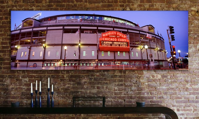 "36""x12"" Baseball Stadium Canvas Prints: $39.99 for a 36""x12"" Baseball Stadium Print ($159.98 List Price). Multiple Prints Available. Free Shipping and Returns."