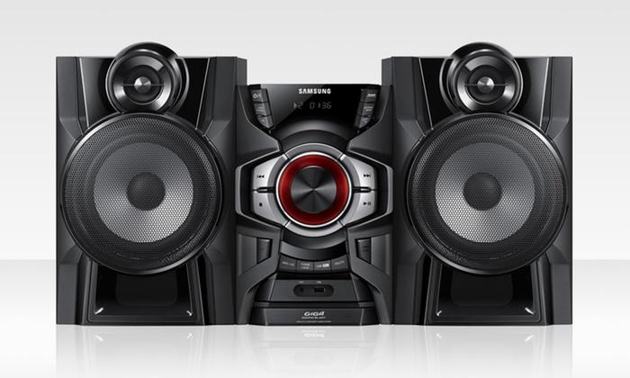 Samsung MX-F730/ZP Mini Stereo System: Samsung MX-F730/ZP 550W Mini Stereo System with Subwoofer.
