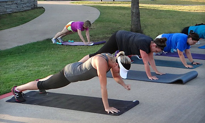 Get You In Shape - Enclaves On The Parkway: $59 for One-Month Boot Camp Program at Get You In Shape ($299 Value)