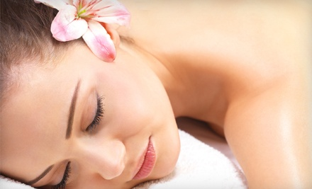 One or Two 60-Minute Custom Massages at The Pressures On (Up to 56% Off)
