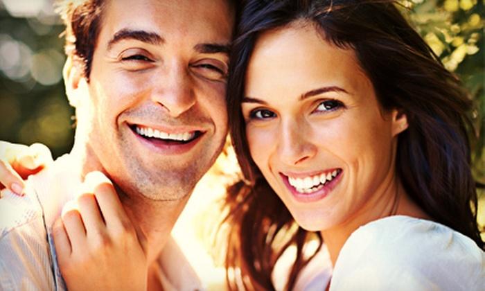 Keller Family Dental - Keller: Dental Exam with Whitening Kit for One or Two, or with Whitening Trays for One at Keller Family Dental (Up to 92% Off)
