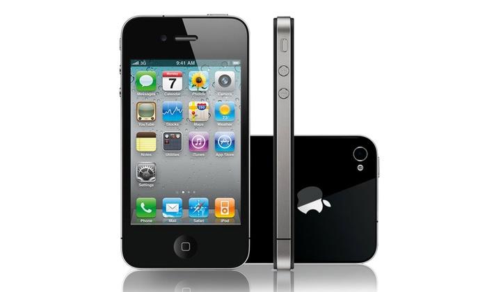 iphone 4 16go reconditionn groupon. Black Bedroom Furniture Sets. Home Design Ideas
