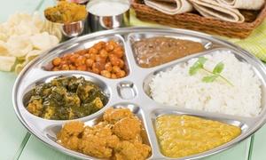 Curry Masala Essen: 5-Gänge-Menü der südasiatischen Fusionsküche für 2 oder 4 Personen im Curry Masala Essen (bis zu 57% sparen*)